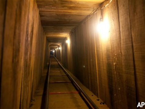 """Border Patrol Seals Massive Underground """"Narcotunnel"""""""