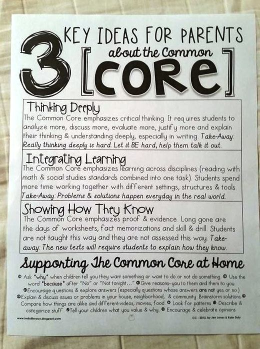 Texas Mom Shocked: Common Core Flyer in Son's Special Ed Packet