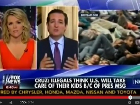 Cruz on Fox: Border Crisis for Kids Result of Obama's Message