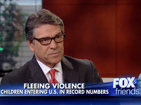 Rick Perry: 'We Don't Have the Resources' to Secure Texas Border