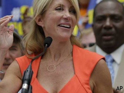 Wendy Davis Rakes in Cash from Liberal States as Texans Reject Her