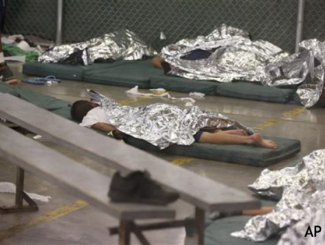 Media Get Disappointing Look at TX and AZ Illegal Immigrant Detention Centers