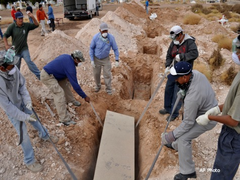 Mass Graves of Immigrant Bodies Found in US–75 Miles from Border