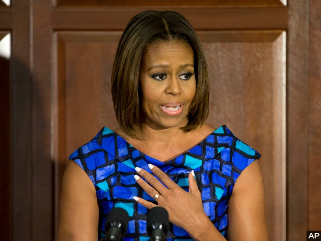 Michelle Obama's Federal Forced Food Efforts Stir Controversy