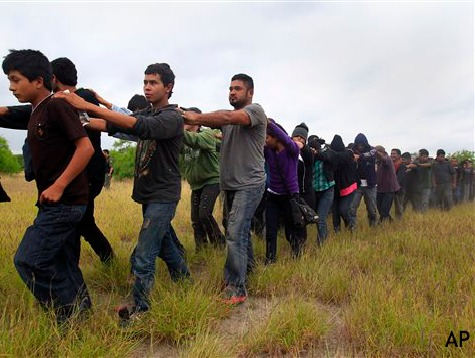 Tidal Wave of Illegal Immigrants Rapidly Draining Federal Resources