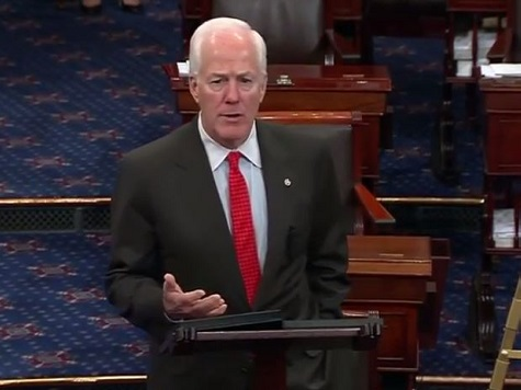 Cornyn to Obama: 'Dallas is Not on the Border, Mr. President'