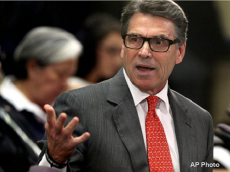 Perry Cutting European Trip Short Amid Growing Ebola Crisis