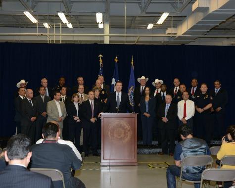 FBI Director Interviews with Breitbart Texas on Terrorism