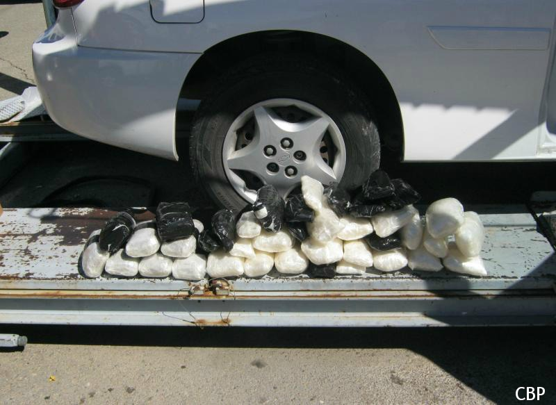 Mexican National Busted in US with 500k of Narcotics
