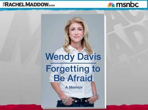 Desperate Davis Takes Book Tour to Rachel Maddow Show