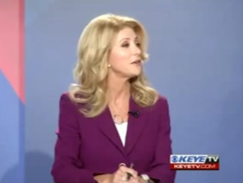 Wendy Davis Melts Down, Talks Over Moderator During Debate