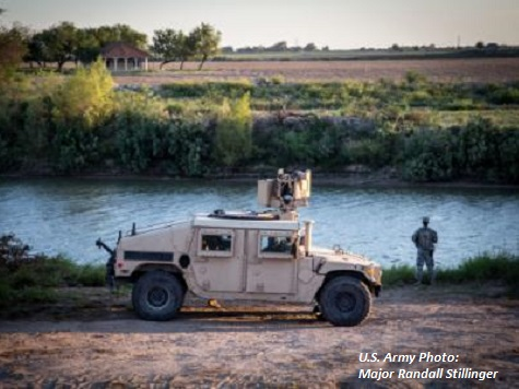 National Guard Saves Life of Man on Texas-Mexico Border