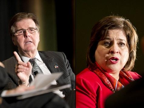 Patrick, Van De Putte Lt. Gov. Debate Tonight Breitbart Texas to Live Blog