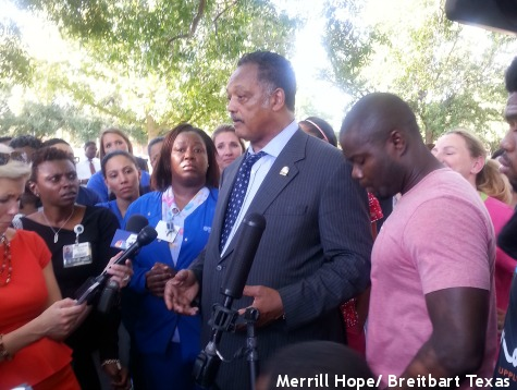 Jesse Jackson Admits Ebola Crisis 'Going to Get Bigger'