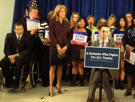 Wendy Davis Brings Disabled People on Stage Amid Fallout over Ad