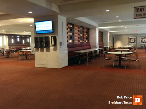 Texas Ebola Hospital Cafeteria Becomes Ghost Town