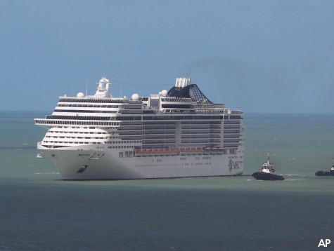 Panic On Board Cruise Liner as it is Quarantined for Ebola, Refused Permission to Dock