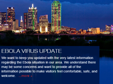 Mayor's Plea to Visitors: 'Dallas is Safe' Despite Ebola News