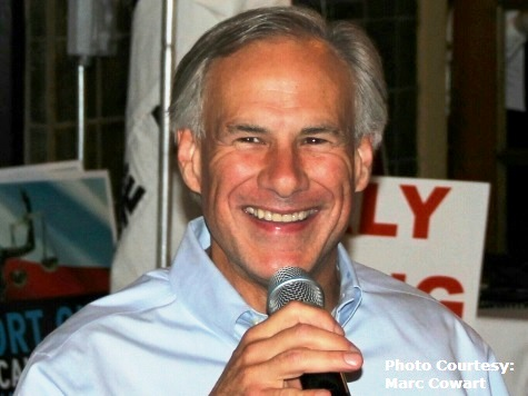 """Greg Abbott To Texas Voters : """"Punch One and Be Done"""""""