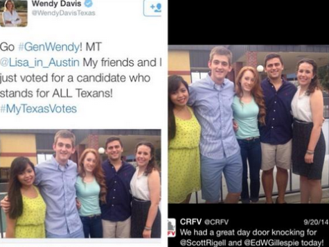 Desperate Davis Accidentally Retweets Young Republicans Photo