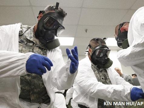 Military Ebola Response Training Underway in San Antonio