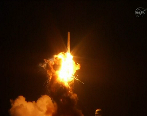 BREAKING: Unmanned Antares Rocket Explodes on Liftoff