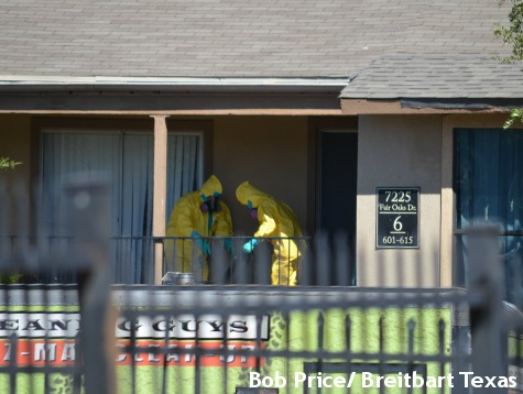 Authorities Took Six Days to Clean Ebola Contaminants