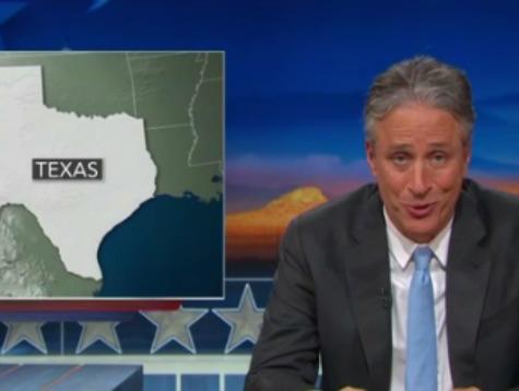 Jon Stewart Mocks Dems Trying to Turn Texas Blue: 'You Poor Bastards'