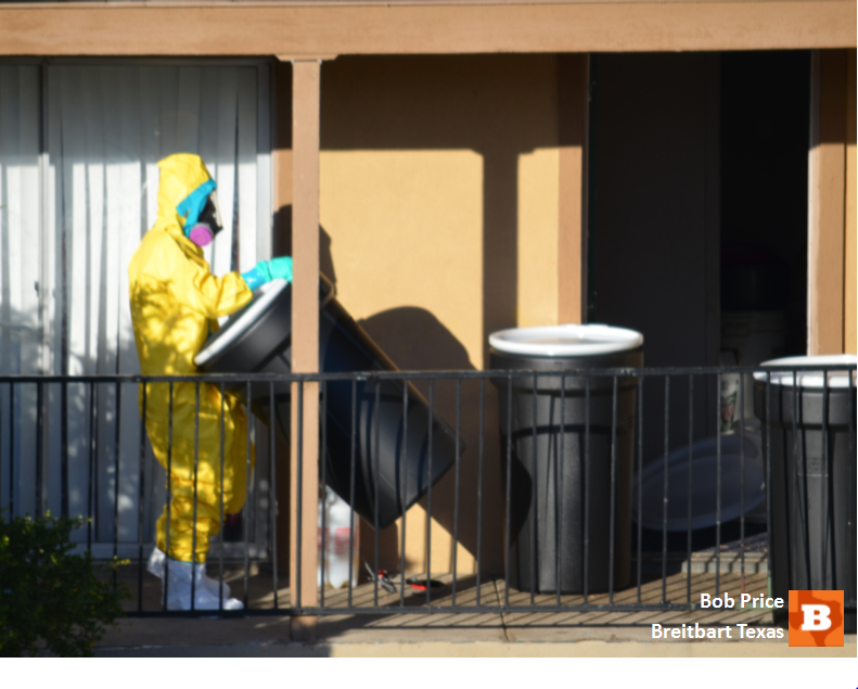 Hazmat Cleanup Continues at Ebola Apartment, Quarantine Order Finally In Place