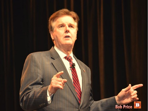 Dan Patrick Moves from Senate Floor to Lt. Governor's Chair