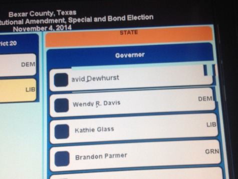 Voting Machine Disabled After Allegedly Failing to Show Greg Abbott's Name on Ballot