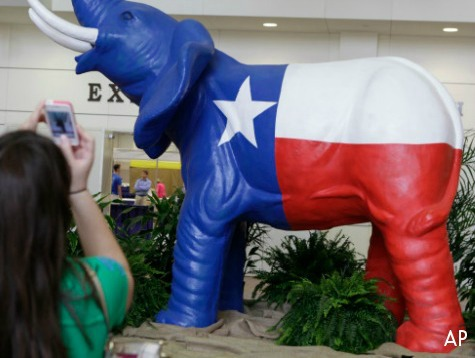 Elephants Trample Democrats' Dream to Turn Texas Blue