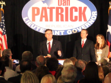 Dan Patrick Interview:  Minorities Want 'Law and Order On the Border'