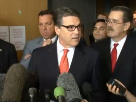 "Perry After First Court Hearing: ""I Would Make That Veto Again"""