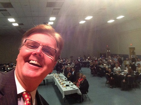 Dan Patrick Credits Victory to Social Media, Selfies, and Staunch Conservatism