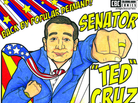 Ted Cruz Coloring Book Flying Off the Shelves