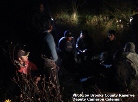 Breitbart Texas Participates in Roundup of 14 Illegal Immigrants Near Falfurrias