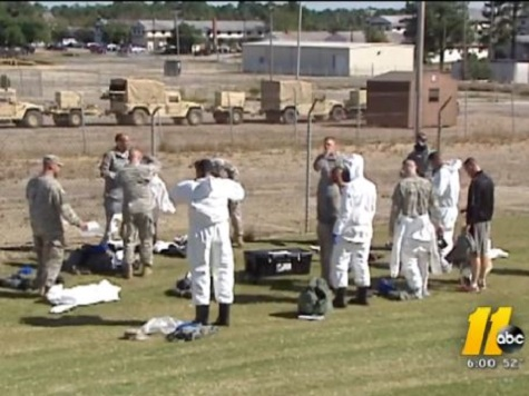 Fort Hood Briefs Local Community Leaders on Ebola Monitoring Mission