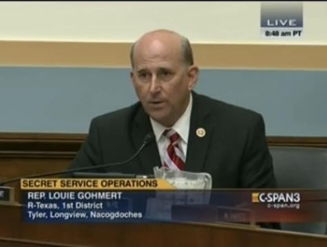 Congressman Gohmert Contrasts White House Security to Border Security