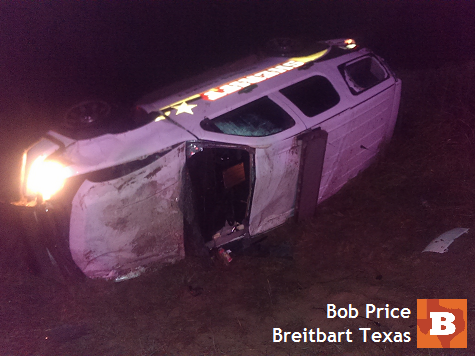 Breitbart Texas Reporter in Rollover Accident While on Border Assignment