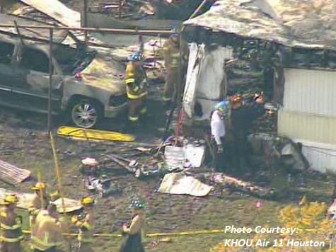 Five Children Killed in Texas Mobile Home Fire