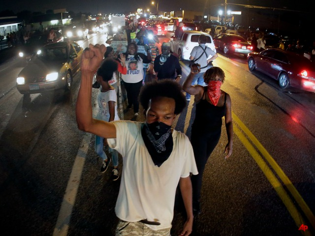 'No Justice, No Profit': Left-Wing Activists Use Ferguson to Condemn Capitalism on 'Brown Friday'