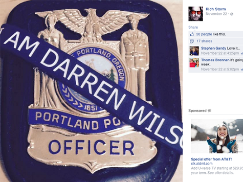 Portland Police Chief Orders Officers to Remove Pro-Darren Wilson Facebook Posts