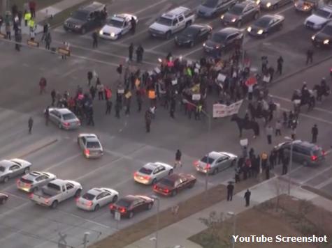 Ferguson Protests Reach Texas