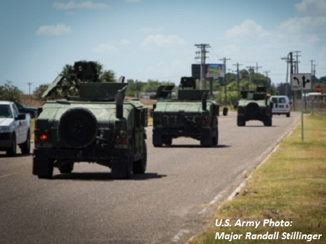 Source: Texas to Pull National Guard from Border Earlier Than Announced