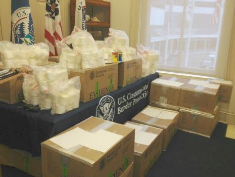 80 Pounds of Coke Seized on Texas-Mexico Border