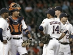 Errors, Pitching Doom Astros in 10-1 Loss to A's