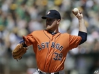 Not Much Offense for Astros in 4-1 Loss to A's