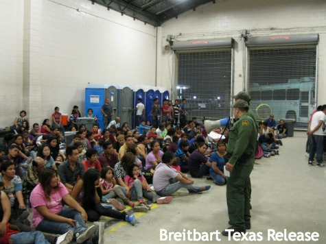 Illegal Immigrants Being Flown Into Houston After California Rejection