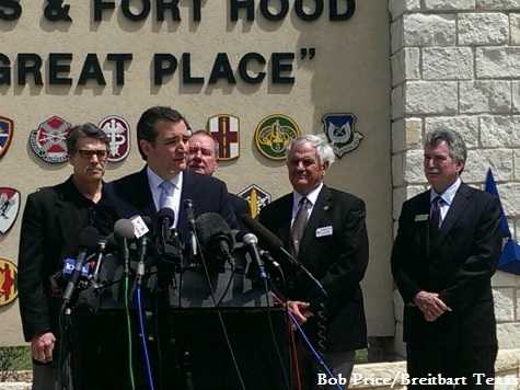 Sen. Cruz: Our Heart Breaks for Ft. Hood